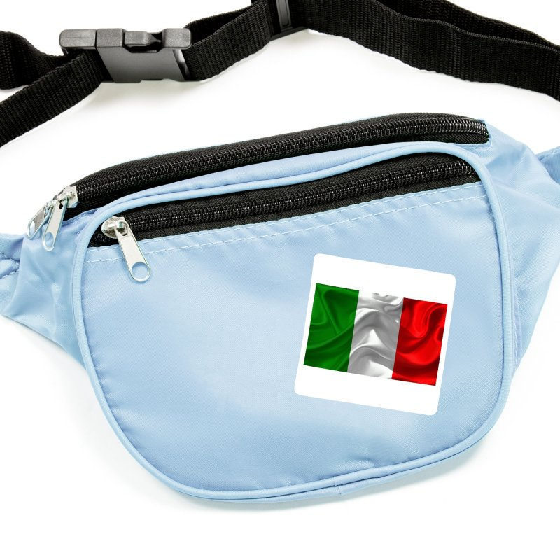 Italian Flag (Textured) Accessories Sticker by Westchester Italian Cultural Center's Shop