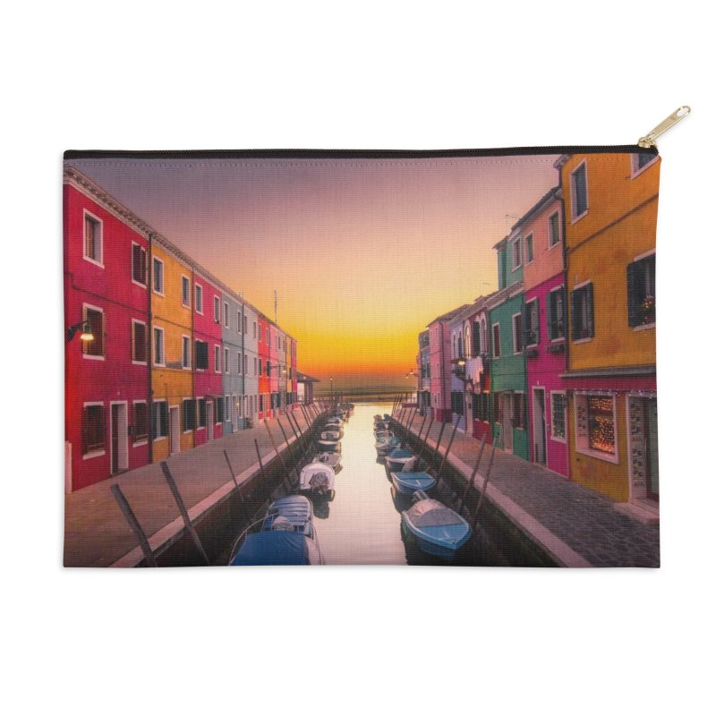 Burano Accessories Zip Pouch by Westchester Italian Cultural Center's Shop