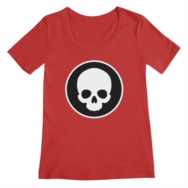 Persephone Skull Women's Regular Scoop Neck by The Wicked + The Divine