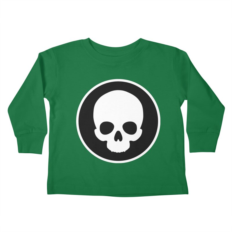 Persephone Skull Kids Toddler Longsleeve T-Shirt by The Wicked + The Divine