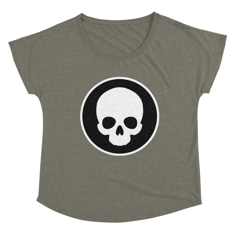 Persephone Skull Women's Dolman Scoop Neck by The Wicked + The Divine