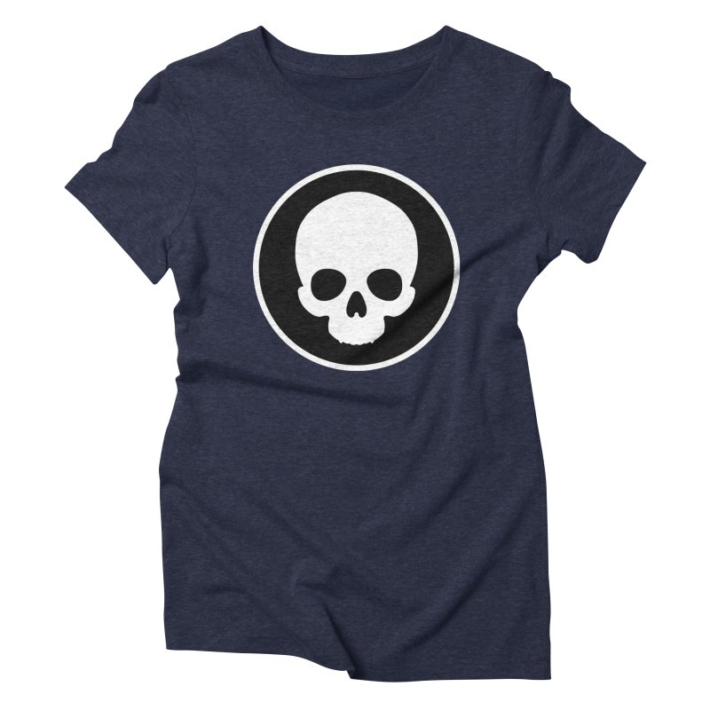 Persephone Skull Women's Triblend T-Shirt by The Wicked + The Divine