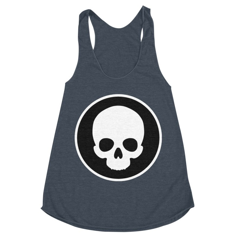 Persephone Skull Women's Racerback Triblend Tank by The Wicked + The Divine