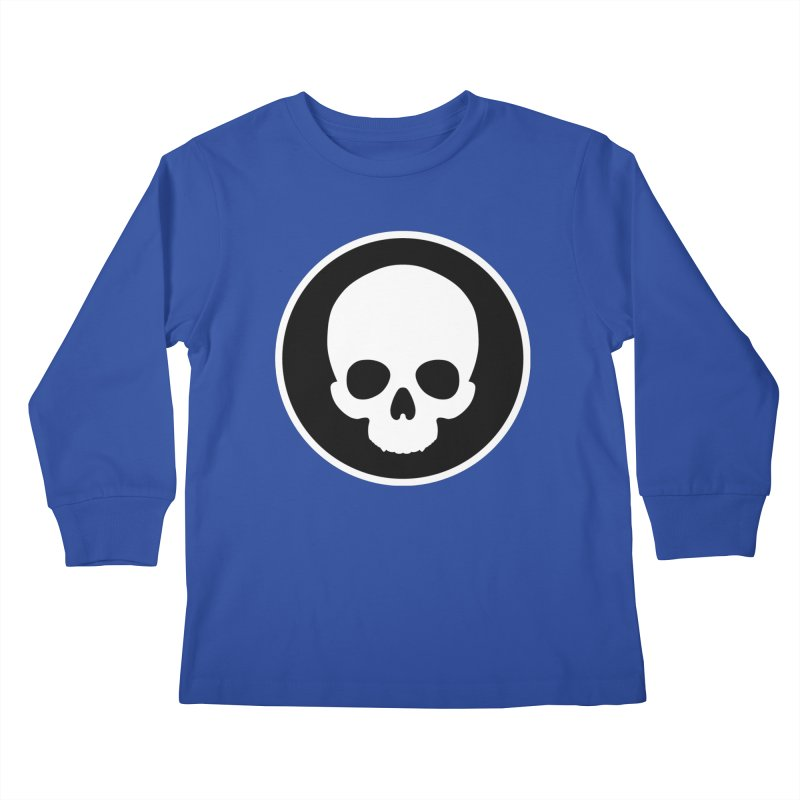 Persephone Skull Kids Longsleeve T-Shirt by The Wicked + The Divine