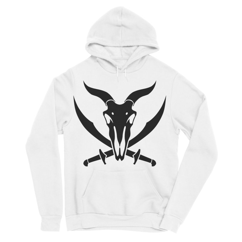 Baphomet Icon Shirt Women's Sponge Fleece Pullover Hoody by The Wicked + The Divine