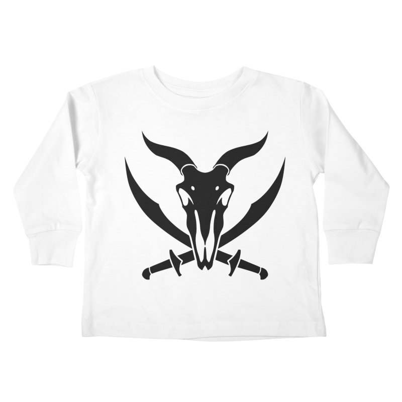Baphomet Icon Shirt Kids Toddler Longsleeve T-Shirt by The Wicked + The Divine