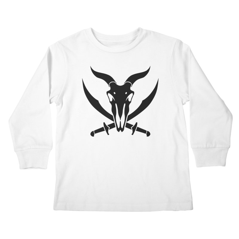 Baphomet Icon Shirt Kids Longsleeve T-Shirt by The Wicked + The Divine
