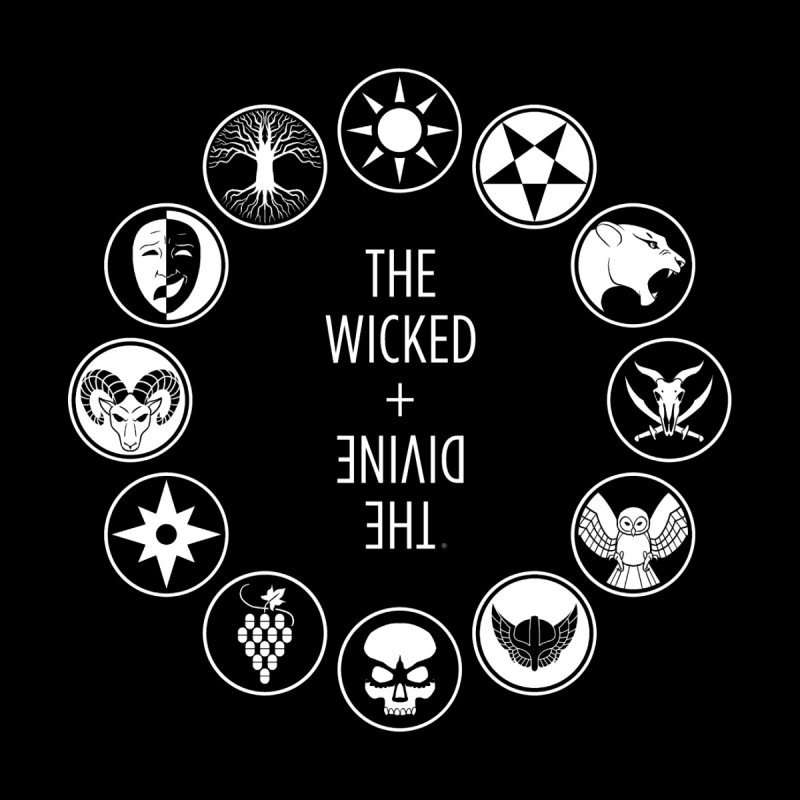 Pantheon Icons by The Wicked + The Divine