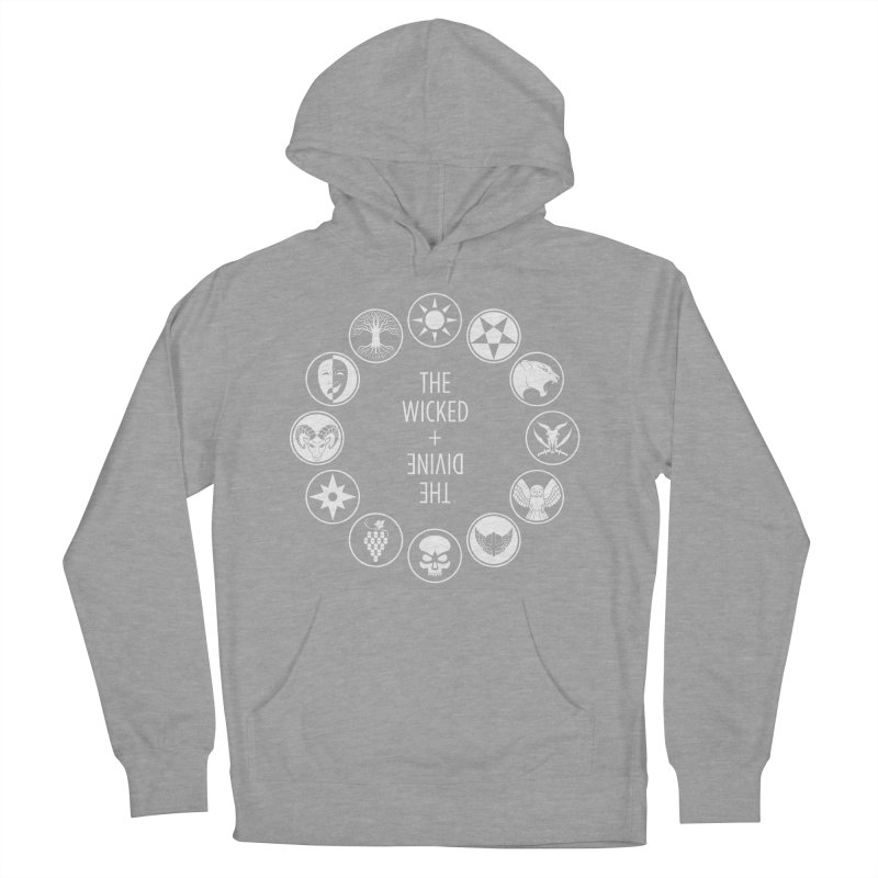Pantheon Icons Men's French Terry Pullover Hoody by The Wicked + The Divine