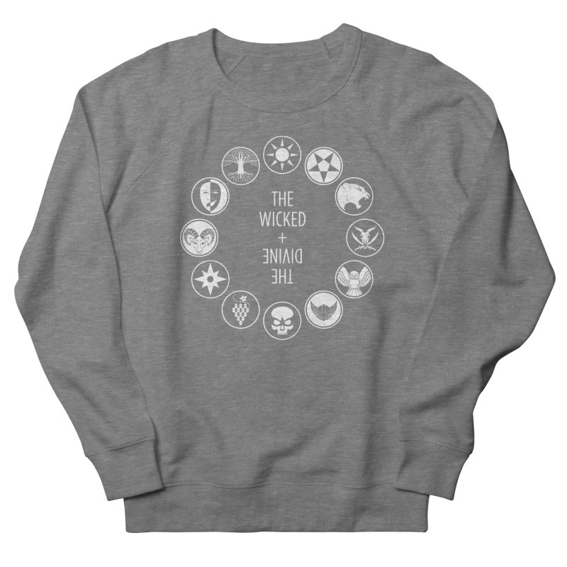 Pantheon Icons Men's French Terry Sweatshirt by The Wicked + The Divine