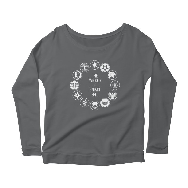 Pantheon Icons Women's Longsleeve Scoopneck  by The Wicked + The Divine