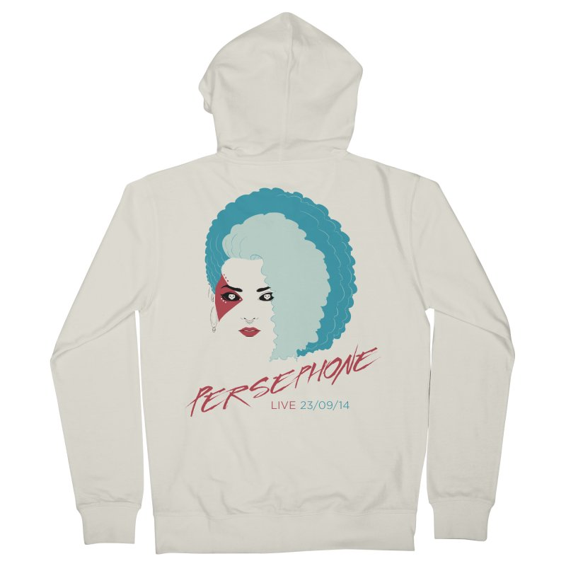 Persephone LIVE  Men's French Terry Zip-Up Hoody by The Wicked + The Divine