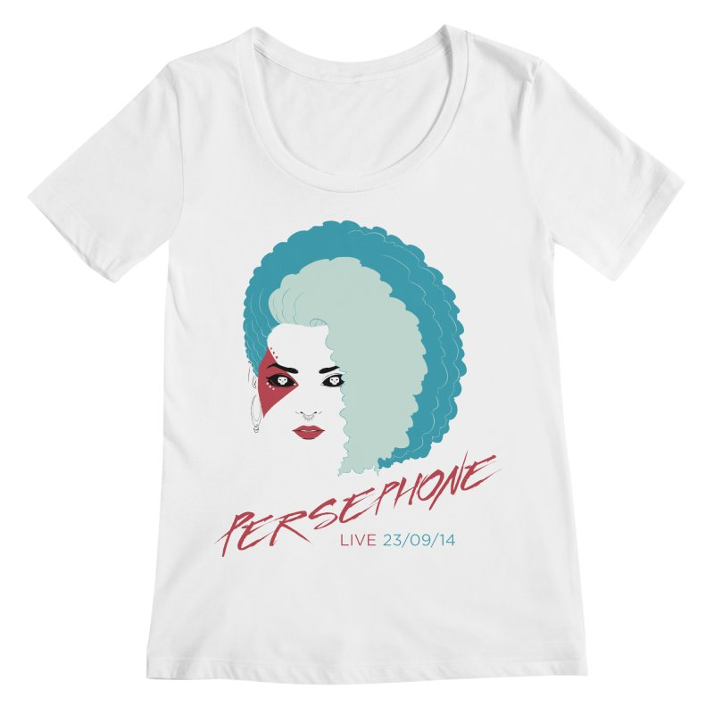 Persephone LIVE  Women's Scoopneck by The Wicked + The Divine
