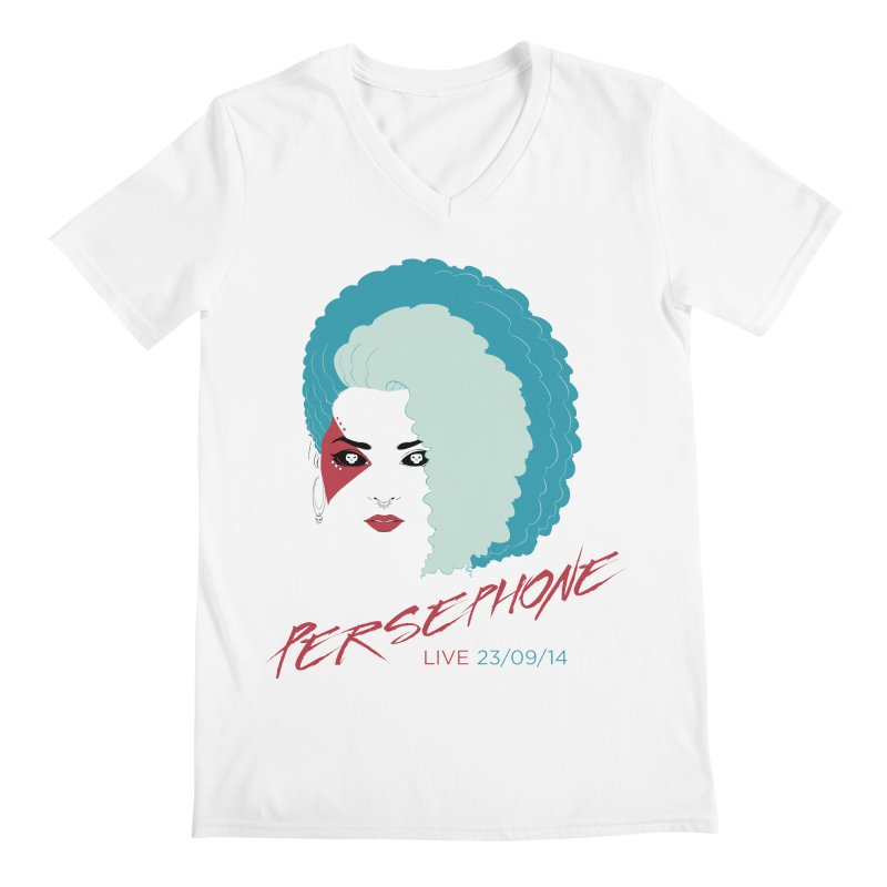 Persephone LIVE  Men's V-Neck by The Wicked + The Divine
