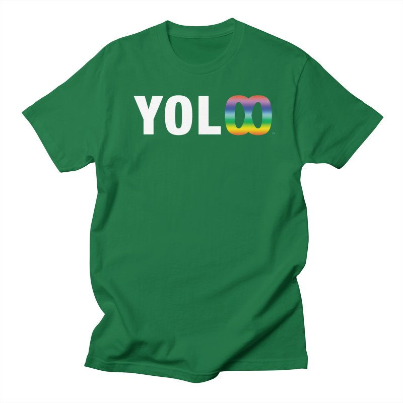 YOL[infinity]  in Men's Regular T-Shirt Kelly Green by The Wicked + The Divine