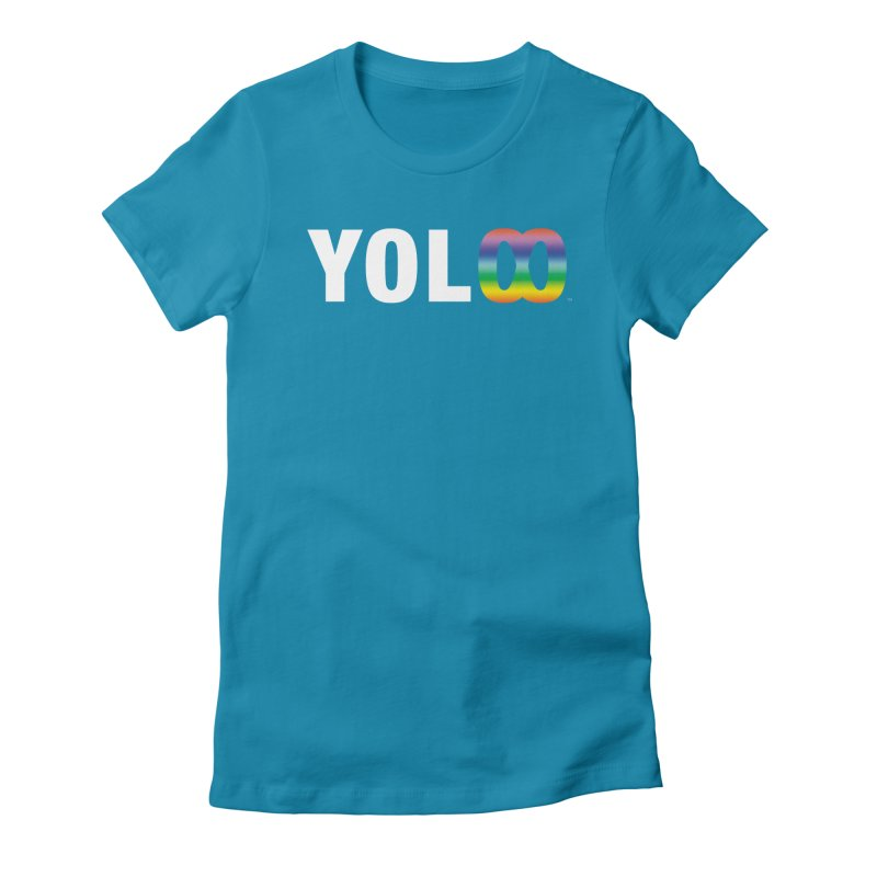 YOL[infinity]  Women's Fitted T-Shirt by The Wicked + The Divine