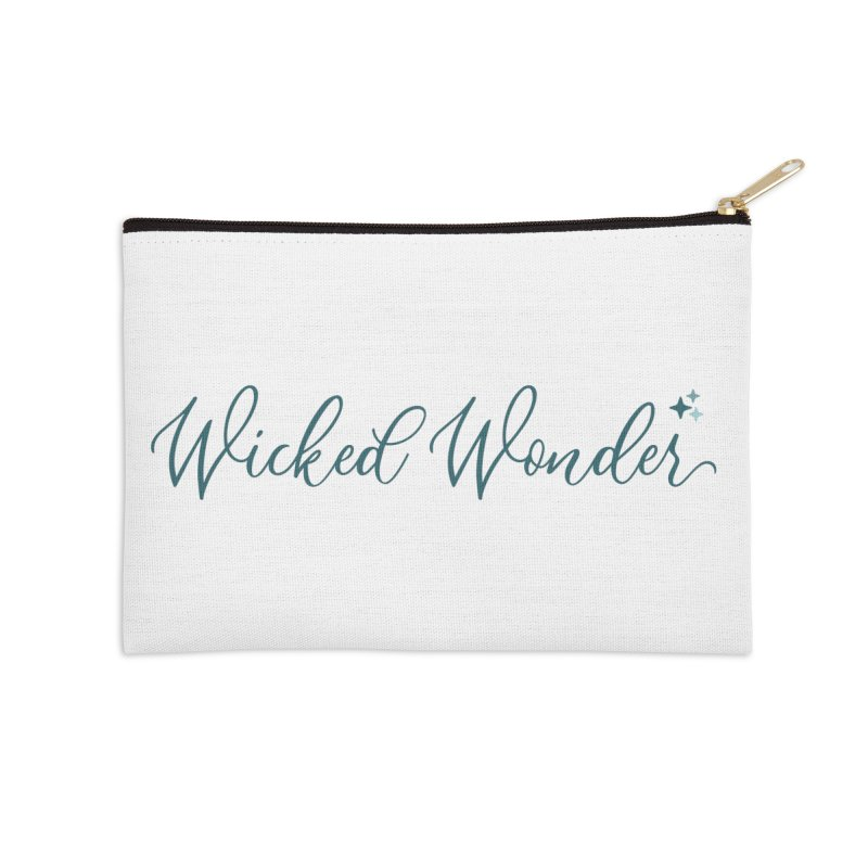 She's a Wicked Wonder Accessories Zip Pouch by Wicked and Wonder