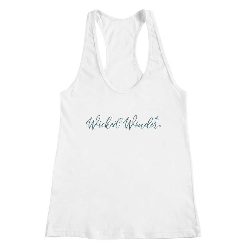 She's a Wicked Wonder Women's Racerback Tank by Wicked and Wonder