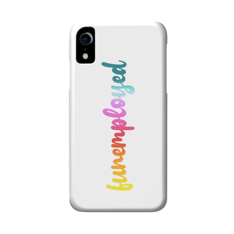 Funemployed! Accessories Phone Case by Wicked and Wonder