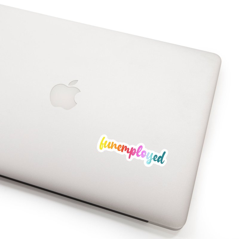 Funemployed! Accessories Sticker by Wicked and Wonder