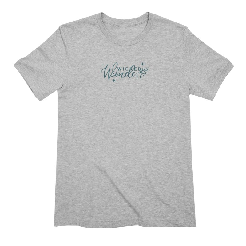 Wicked & Wonder Design Men's T-Shirt by Wicked and Wonder