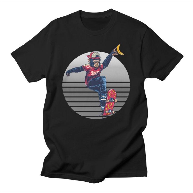 Skate Monkey Men's T-Shirt by Wicked Clobber