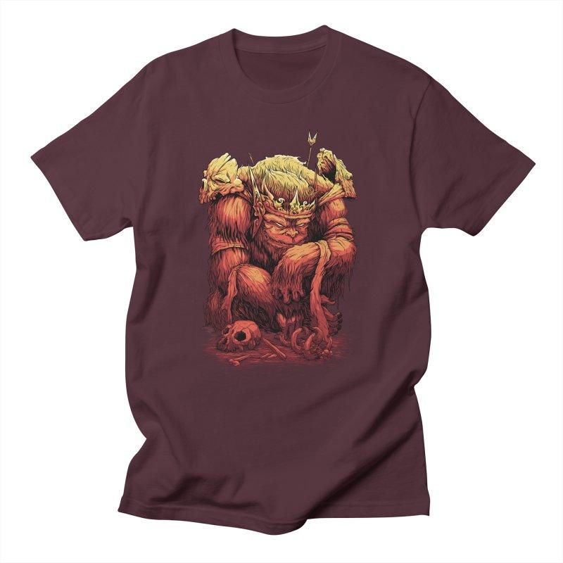 Monster King Men's T-Shirt by Wicked Clobber