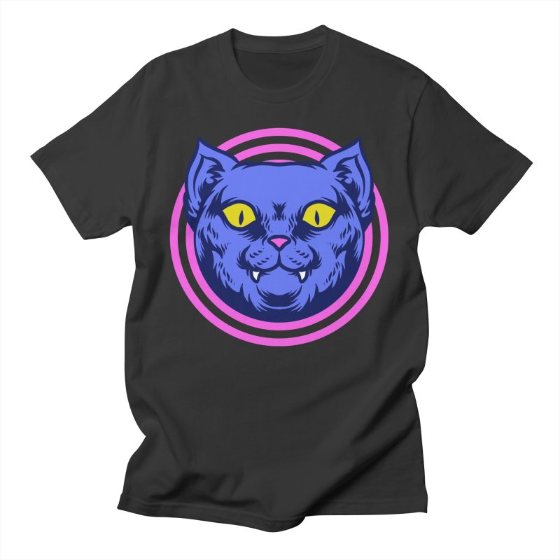 Trippy Cat Men's T-Shirt by Wicked Clobber