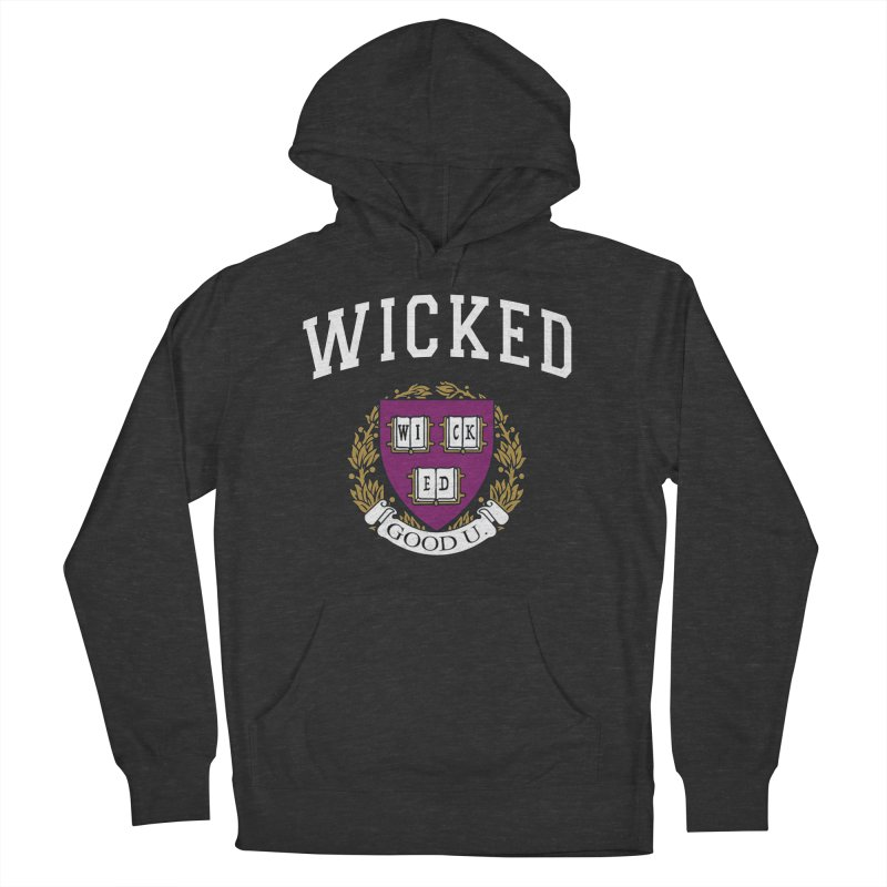 Wicked Smart Men's French Terry Pullover Hoody by The Wicked Good Gaming Shop
