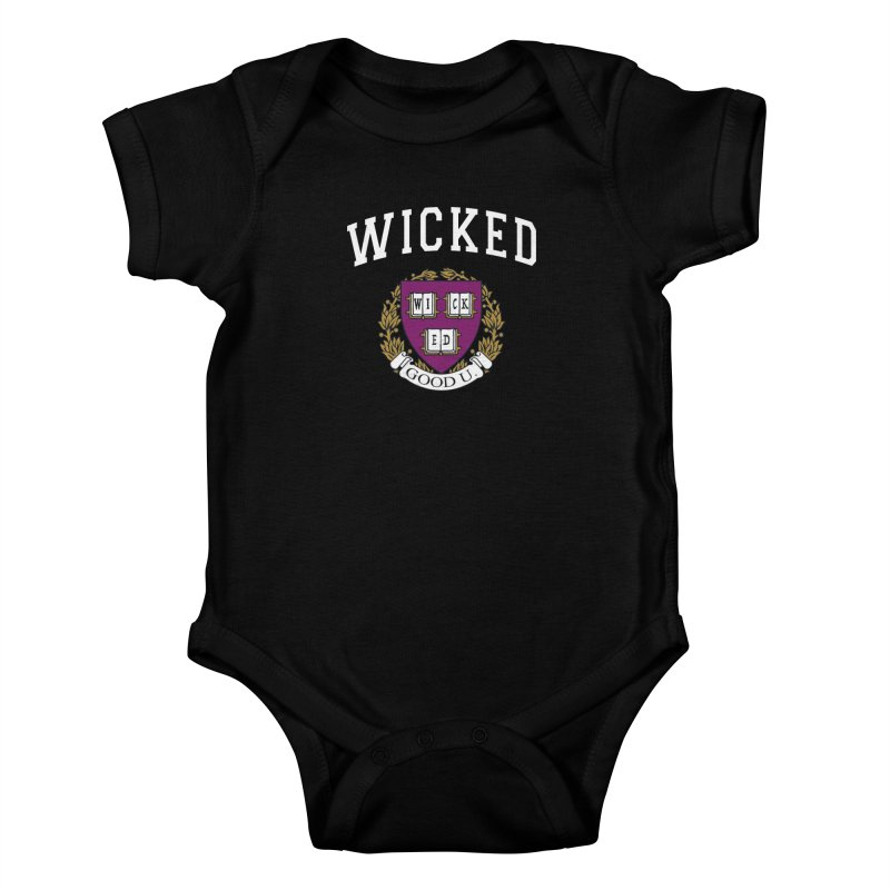 Wicked Smart Kids Baby Bodysuit by The Wicked Good Gaming Shop