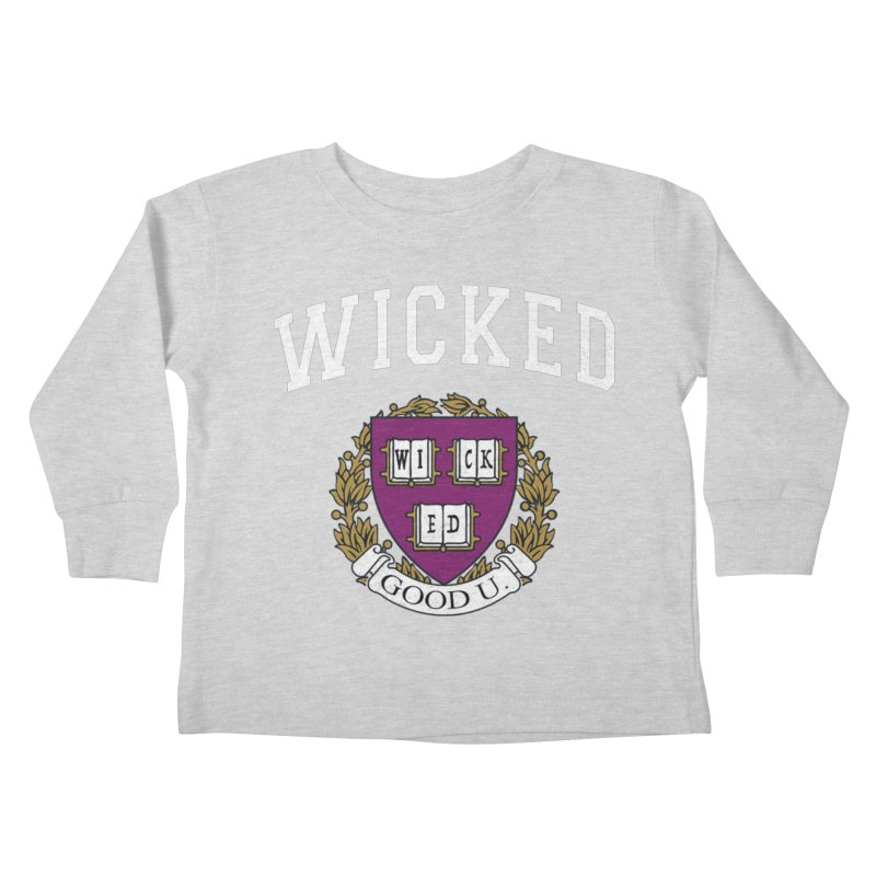 Wicked Smart Kids Toddler Longsleeve T-Shirt by The Wicked Good Gaming Shop