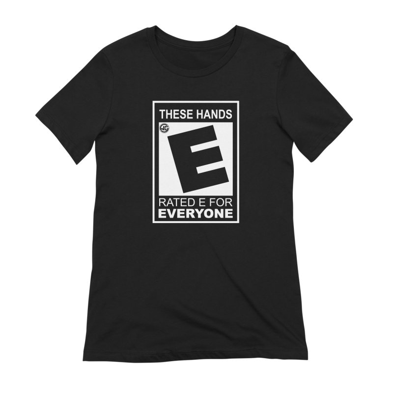 Catch These Hands Women's Extra Soft T-Shirt by The Wicked Good Gaming Shop