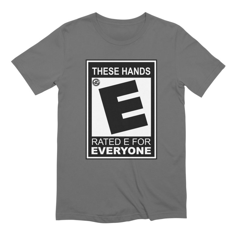 Catch These Hands Men's T-Shirt by The Wicked Good Gaming Shop