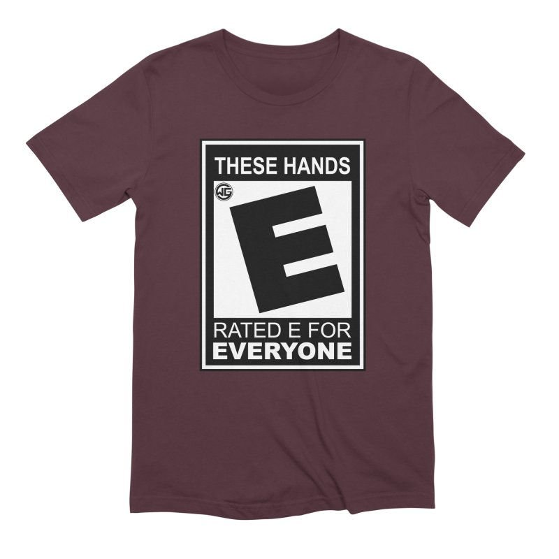 Catch These Hands Men's Extra Soft T-Shirt by The Wicked Good Gaming Shop