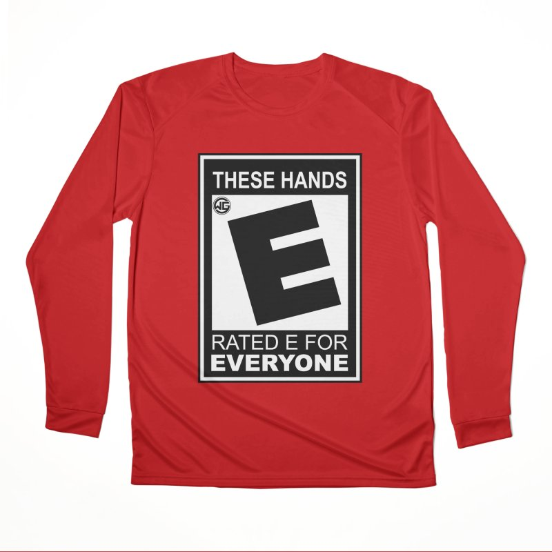 Catch These Hands Men's Performance Longsleeve T-Shirt by The Wicked Good Gaming Shop