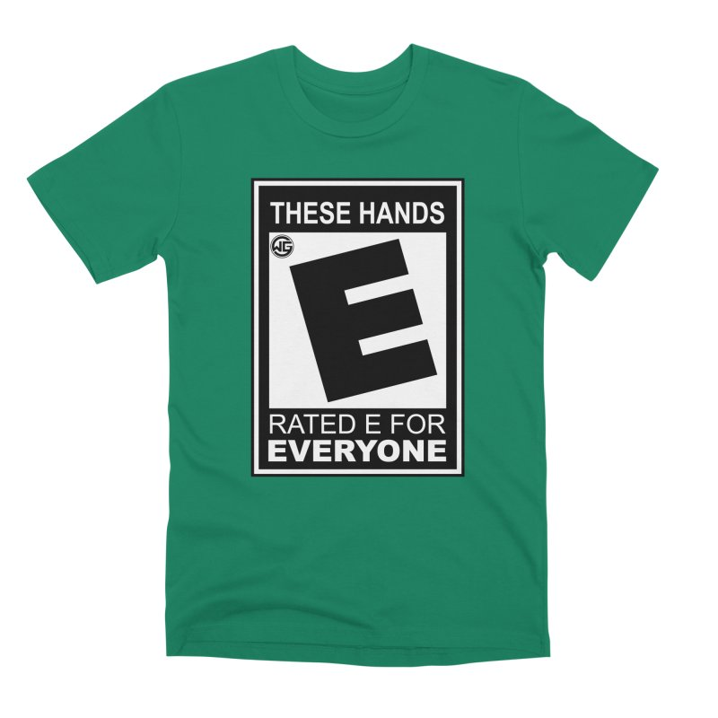 Catch These Hands Men's Premium T-Shirt by The Wicked Good Gaming Shop