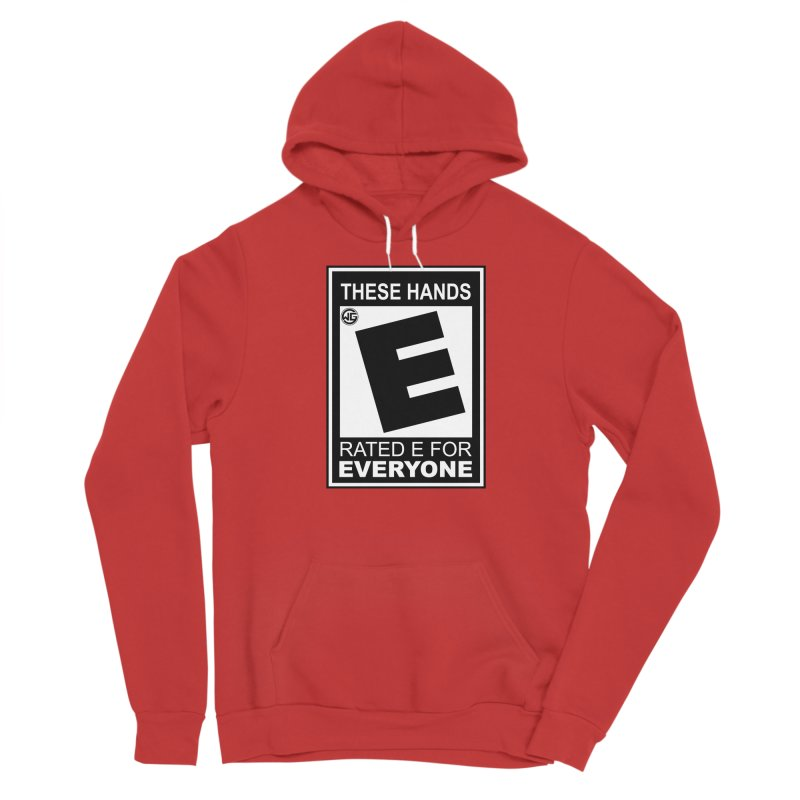 Catch These Hands Men's Pullover Hoody by The Wicked Good Gaming Shop