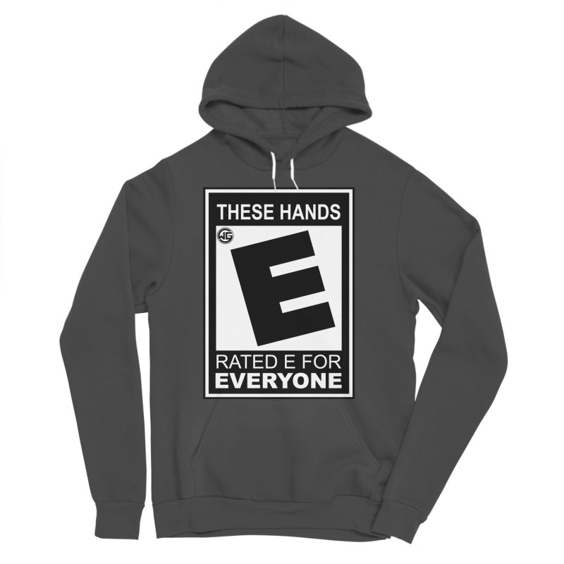 Catch These Hands Women's Sponge Fleece Pullover Hoody by The Wicked Good Gaming Shop