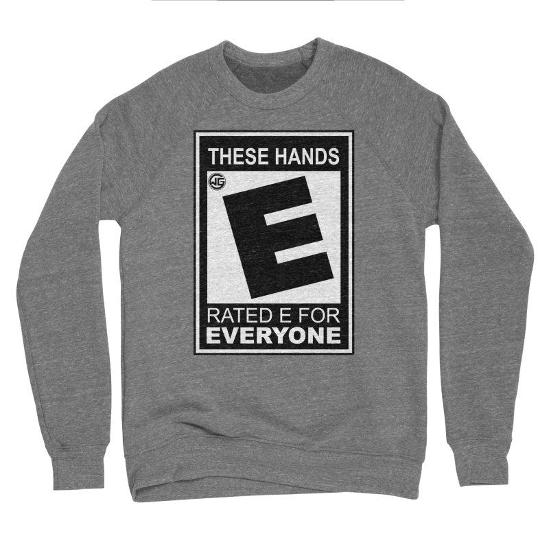 Catch These Hands Men's Sponge Fleece Sweatshirt by The Wicked Good Gaming Shop