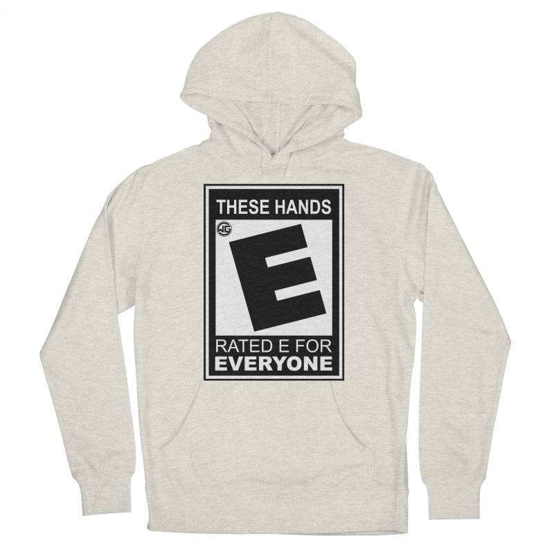 Catch These Hands Women's French Terry Pullover Hoody by The Wicked Good Gaming Shop