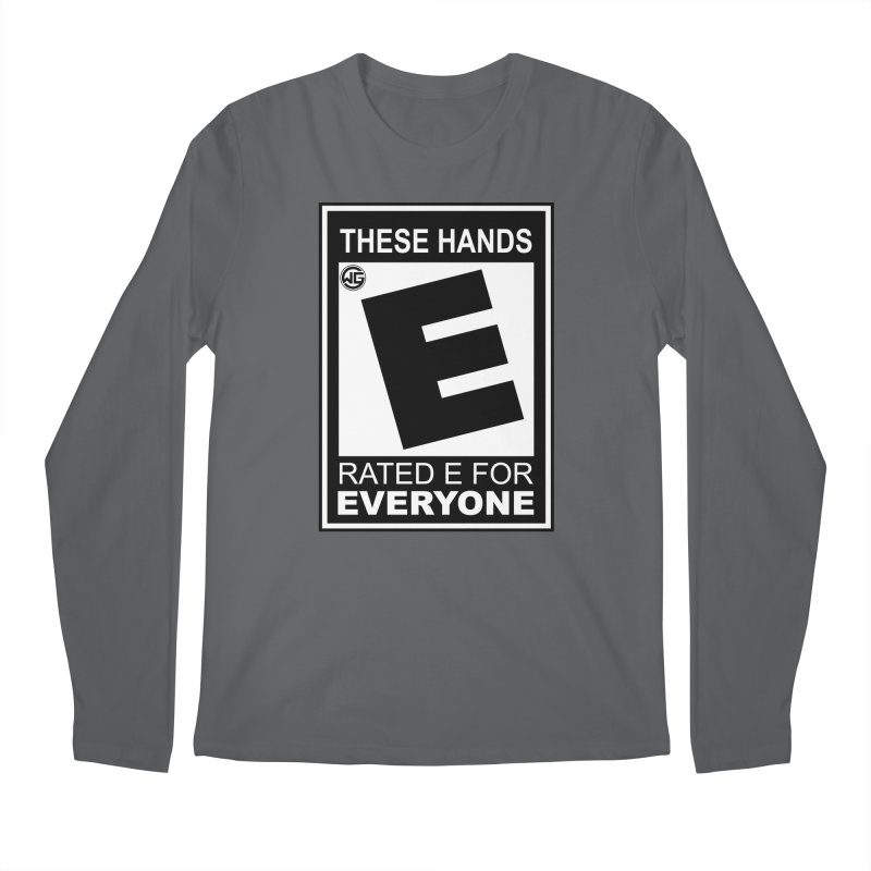 Catch These Hands Men's Longsleeve T-Shirt by The Wicked Good Gaming Shop