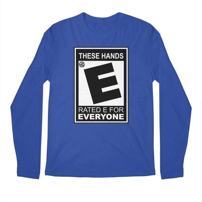 Catch These Hands Men's Regular Longsleeve T-Shirt by The Wicked Good Gaming Shop