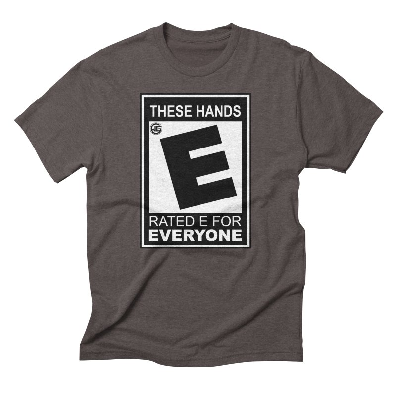 Catch These Hands Men's Triblend T-Shirt by The Wicked Good Gaming Shop