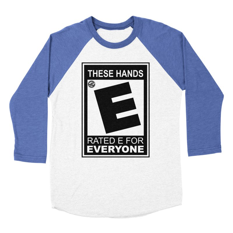 Catch These Hands Women's Baseball Triblend Longsleeve T-Shirt by The Wicked Good Gaming Shop