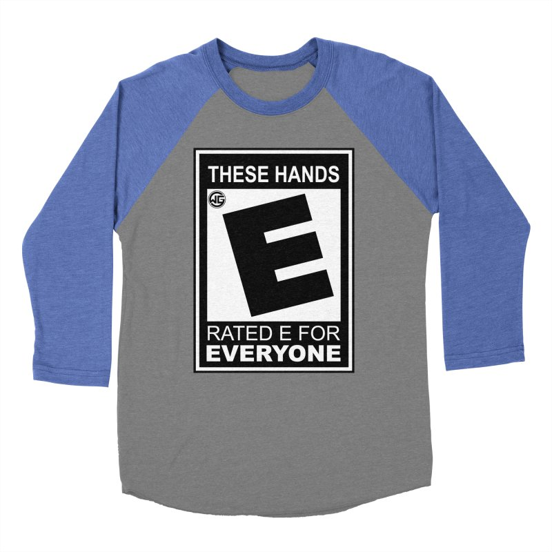 Catch These Hands Men's Baseball Triblend Longsleeve T-Shirt by The Wicked Good Gaming Shop