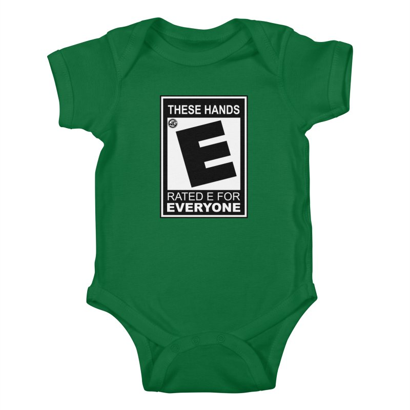 Catch These Hands Kids Baby Bodysuit by The Wicked Good Gaming Shop