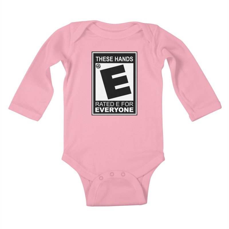 Catch These Hands Kids Baby Longsleeve Bodysuit by The Wicked Good Gaming Shop