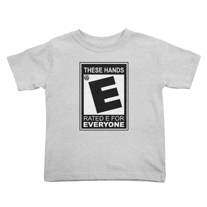Catch These Hands Kids Toddler T-Shirt by The Wicked Good Gaming Shop