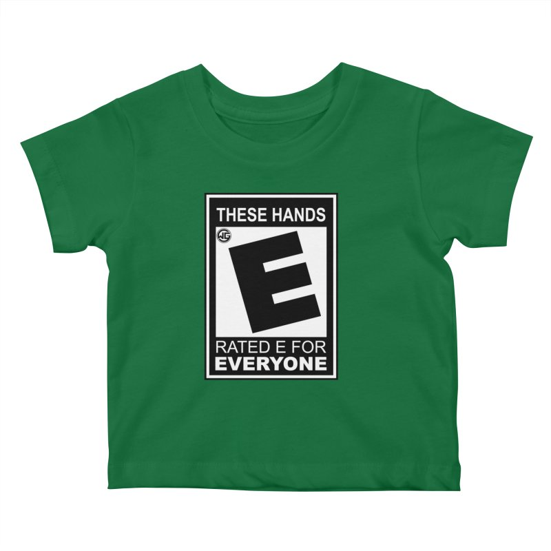 Catch These Hands Kids Baby T-Shirt by The Wicked Good Gaming Shop