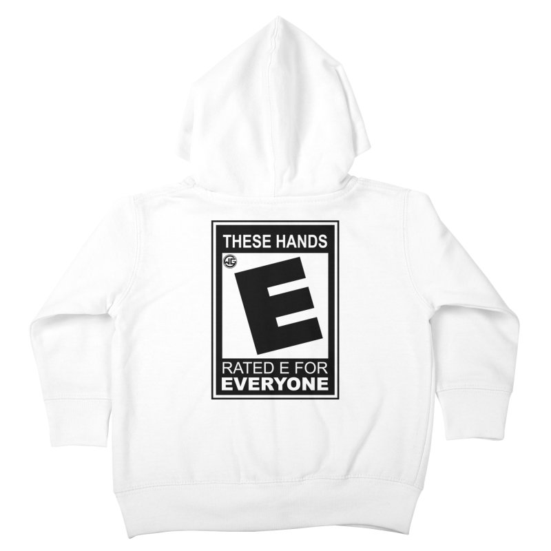 Catch These Hands Kids Toddler Zip-Up Hoody by The Wicked Good Gaming Shop